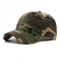 Wholesale desert camo cap for sale - 2019 Men Women Army Camouflage Camo Cap Casquette Hat Climbing Baseball Cap Hunting Fishing Desert Party Hat