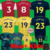 kit de portero jerseys al por mayor-NICOLAS 2019 2020 Camisetas de fútbol 19 20 KIDS Kits Camisetas HENRY maillot Camisetas de fútbol de portero largas