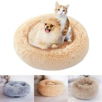 Wholesale korean princess bedding for sale - Group buy Pet Dog Puppy Princess Bows Lace Heart Elegant Lovely Bed Doghouse Pet Warm Round Bed S M L Levert Dropship Y200330