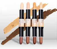 Wholesale combination concealer for sale - Group buy Factory Direct New Makeup Face NYX Wonder Stick Highlight And Contour Stick g