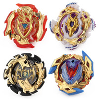 Wholesale gold beyblade toys online - 4D Gold Beyblade Burst Metal Fusion Gyro spinning top B110 B104 B105 B106 without Launcher and box Children s Christmas Gifts Toys