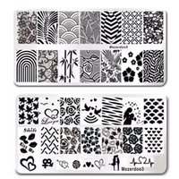 Wholesale garden tool art resale online - 11Pcs Flowers Plants Garden Nail Art Stainless Plate Image Stamping Plates DIY Manicure Printing Template Plate Tool Pack Styles