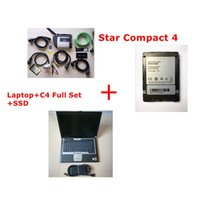 Wholesale das mb star c4 sd connect resale online - Best MB Star C4 sd connect c4 laptop d630 and Xen try Vediam0 DAS V software HDD ready to use ben z auto diagnostic tools