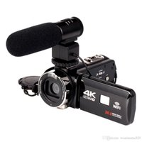megapixel digitalkamera video großhandel-2018 WIFI 4K Camcorder 16X-Zoom 3.0 HD-Touchscreen 24 Megapixel mit IR-Infrarot-Digitalvideokamera