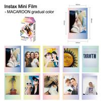 Wholesale film fuji online - Camera Photo s Instant Photo Paper Genuine Sheets Color Film Fuji Instax Film Fujifilm Instax Mini Film For s