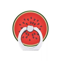 подставка для поворота телефона оптовых-Подставка для фруктовых колец, подставка для мобильного телефона, летняя разноцветная фруктовая вращающаяся подставка