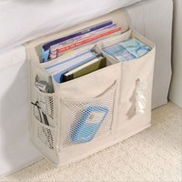 Wholesale utility beds for sale - Group buy Oxford sofa bag hanging bed bedside bag remote control utility receiver hanging
