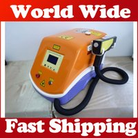 Wholesale free tattoo removal for sale - Group buy EU tax free adjust Hz Nd Q Switch Yag Laser Skin Care Tattoo Removal Eyebrow Cleaner Spot Pigmentation Remove instrument Beauty Machine