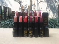 Wholesale summer lipsticks resale online - ePacket New Makeup Lips M837 James Kaliardos Spring Summer Matte Lipstick Different Colors