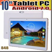 """848 10 """" 10 inch Tablet PC MTK6582 Octa Core Android 6.0 4GB RAM 64GB ROM Phable IPS Screen GPS 3G phone Tablets MID E-10PB"""