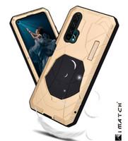 huawei чехол для чехла оптовых-Для Huawei Honor 20 20 Pro Phone Case Жесткий Алюминиевый Металлический Силикон Полное Покрытие Броня Сверхмощный Протектор Ударопрочный