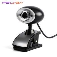 chatten mikrofon großhandel-FELYBY A7230 480P HD-Computer-Videokamera eingebautes Aufnahmemikrofon USB-Webkamera unterstützt TV-Live-Video-Chat