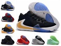 zapatillas de baloncesto rápidas al por mayor-2019 nueva llegada para hombre Freak 1 Giannis Antetokounmpo 1s zapatillas de baloncesto para zapatillas de deporte baratas Athletic Zoom GA1 de envío rápido talla 36-46