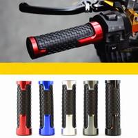 ingrosso gomma di alluminio-Manubrio per parti di ricambio per motociclette Manubrio a molla. Acceleratore in lega di alluminio e gomma per uso generico