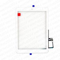 ingrosso pannello del digitalizzatore di mele-Nuovo pannello touch screen in vetro con pulsanti Home Digitizer per iPad 6 6 2018 A1893 A1954 DHL gratuito