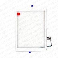 ipad evleri toptan satış-Yeni Dokunmatik Ekran Cam Panel Sayısallaştırıcı ile Ev Düğmeleri için iPad 6 6th 2018 A1893 A1954 ücretsiz DHL