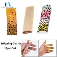 3pcs Finger Skin Protective Cover Fly Fishing Line Stripping Guards Protective Stall Hand Guard Gear Tool
