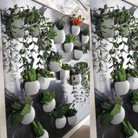 quadro negro venda por atacado-Flores de Suculenta de Silicone Artificial Bonsai Orquídea Plantas Ímã de Geladeira Quadro Magnético Casamento Em Casa Hotel Partido Decorações YO CHO