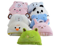bebé con capucha toallas de baño de animales al por mayor-Suave manta de bebé Bebé Niños Toallas de baño Forma animal Toalla con capucha Bebé encantador Toalla de baño Swaddle Wrap
