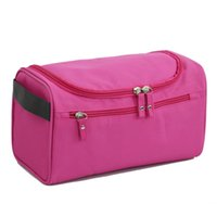 Wholesale travel online - Women Waterproof Travel Bag High Capacity Luggage Clothes Wash Bags Portable Organizer Cosmetic Case Men Outdoor Bag RRA473