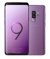 desbloquear teléfono android solo sim al por mayor-Teléfono celular Samsung Galaxy S9 S9 + Plus desbloqueado original restaurado 64GB / 128GB / 256GB 5.8 / 6.2inch 12MP Single Sim 4G Lte
