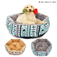 alambre cercas de perro al por mayor-Soft Pet Dog Cat House Tent Kennel Doggy Winter Warm Cushion Basket Animal Bed Cave Dog House Cage Productos para mascotas Suministros
