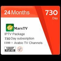 kostenlose arabische fernsehkanäle iptv großhandel-Kostenlose 6/12/24 Monate IPTV Abonnement Arabisch IPTV Für Android TV Unterstützung 1300+ Afrika Somail Tunesien FR SE IPTV Kanäle und 1000 Filme