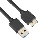 Wholesale laptop hard disk connector for sale - Group buy USB3 High Speed Mobile Hard Disk Connect Cable USB3 To Micro B USB Connector AM Micro b M M M