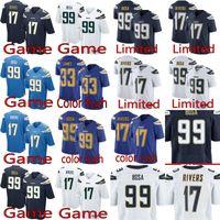 a0e951527 2018 Chargers 99 Joey Bosa 17 Philip Rivers 13 Keenan Allen Men s football  jerseys top quality 01