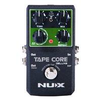 gitarreneffektpedale verzögern groihandel-NUX Tape Core Deluxe Echo-Effektpedal, 7 Modelle Verzögerungseffekte True Bypass Guitar-Effektpedal für Gitarrenbässe