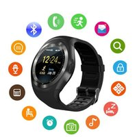 Wholesale relogio camera for sale - Group buy Y1 Smart Watch Reloj Relogio Fitness Tracker Smart Wristwatch Supports Phone Call SIM TF Camera Sync Passometer Smart Bracelet For Android