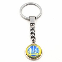 Wholesale Keychains Jewelry Gifts Basketball Team Sports Jewelry Fashion Sports Key Rings Charms