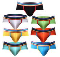 Wholesale underwear packs resale online - Men s Underwear Rainbow Low Rise Modal Briefs Pack
