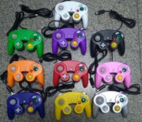 Wholesale game cube controllers resale online - price Wired Game Controller Gamepad Joystick for NGC NINTENDO GC Game Cube For Platinum factory price