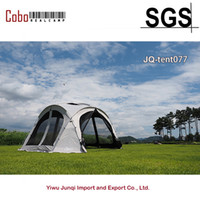 Wholesale up house tent for sale - Group buy Outdoor camping People Large Beach Canopy black white Protection Sun Shade Shelter POP UP Screen house Sun wall family tent