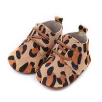 ingrosso pattini del leopardo del bambino-leopardo scarpe da bambino zebra scarpe da bambino scarpe da bambina Moda mocassini morbida prima scarpa da passeggio scarpa da neonato scarpa da neonato A4479