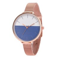мужские наручные часы оптовых-women watch ladies watches bangle  new quartz clock women leather watch men's leather strap Korean#P6