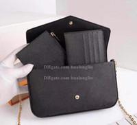 Wholesale slot 1 for sale - Group buy Women Messenger Bag Leather handbag original box in high quality with serial number brand desginer