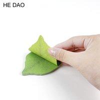 sevimli korece yapışkan notlar toptan satış-Sevimli Yaprak Memo Pad Yapışkan Not Diy Kawaii Kağıt Sticker Pedleri Kore Kırtasiye Ücretsiz Kargo