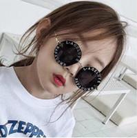 gläser zubehör für kinder großhandel-Steampunk Bee Kinder Sonnenbrille Jungen Mädchen Luxus Vintage Kinder Sonnenbrille Runde Sonnenbrille Oculos Feminino Zubehör