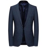 ingrosso blazer dress for mens-2019 Uomo nuovo arrivo Slim Fit Blazer Mens Blazer floreale Prom Dress Blazer da sposa Elegante giacca da sposa e giacca da uomo 8133