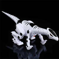 Wholesale music toys for year old resale online - Electric Dinosaur for Children Walking Robot Roaring Interactive Dinosaur Toy with Music Light and Sound Effects Intelligent Toy