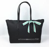 bolsas arcos venda por atacado-Novo Laço Bow Moda Pacote Dobrável Nylon Sacos de Ombro Lady Lacos Totes Mulher Feminina le hobos bag Handbag