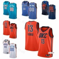 Wholesale thunder jerseys online - Print Man Kids Woman Basketball Thunder  Russell Westbrook Jersey Paul George 976827eb3
