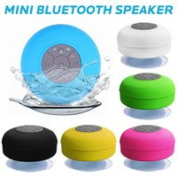 Wholesale Mini Bluetooth Speaker Portable Waterproof Wireless Handsfree Shower Speakers For Showers Bathroom Pool Car Beach Outdor