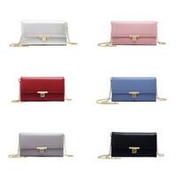 дешевые королевские синие пkers for windows оптовых-Fashion 2019 Leather Handbag Cell Phone Card Holder Mini Shoulder Bag Crossbody Bags Clutch Bag for Women