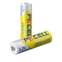 batería pkcell al por mayor-Original PKCELL 14500 14490 Batería 2600MAH 1.2V NiMH Baterías recargables NO5 para control remoto Juguetes electrónicos Herramientas Ventiladores