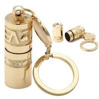 führte tierlampen großhandel-Goldene mini tragbare led taschenlampe lampe wasserdicht handheld outdoor camping wandern liebe lotus tier schlüsselbund taschenlampe ljjz520