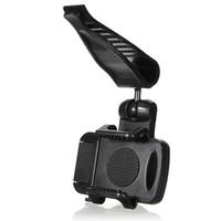 Wholesale phone car visor holder resale online - Universal Rotating Car Sun Visor Phone Mount Holder Stand For Samsung Mobile Phone GPS PDA MP4 Camera Digital DVR