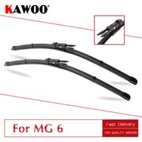 Wholesale rubber blade for wiper resale online - KAWOO For MG quot quot Car Natural Rubber Windshield Wipers Blades Fit Pinch Tab Arm